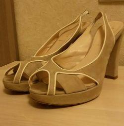 Sandals Baldini 36 size Italy