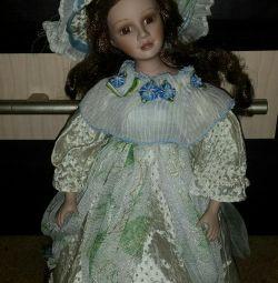 Porcelain doll 30cm