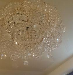 Candelabru de cristal clasic contemporan
