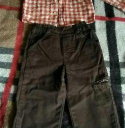 Pantaloni și cămașă pentru băieți, p.80