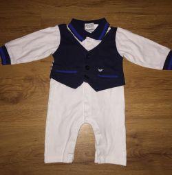 Costume Armani Junior (original) size 6-9 months