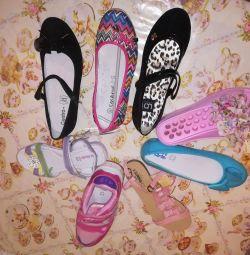 Pantofi noi pentru școală, sandale 35 / 36r,