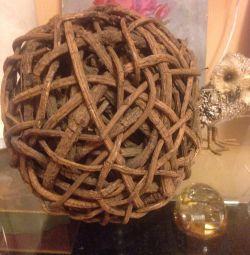 Söğüt hasır topu