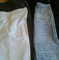 Мног одежды для парней и мужчин.
