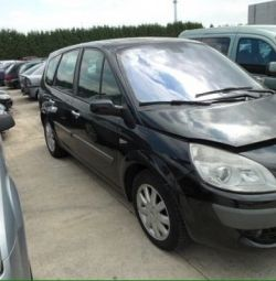 Auto parts for Renault Scenic from Europe
