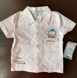 Новая рубашка фирмы GL