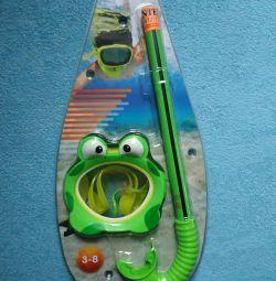 Детский набор для ныряния Лягушка Intex