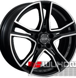 Колісні диски OZ Racing Adrenalina 8x17 PCD 5x114.3 ET 40 DIA 75.00 Matt Black + Diamond cut