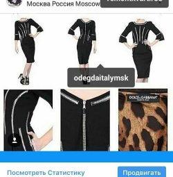Платье новое Dolce&Gabbana Италия размер S 38 стра