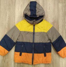 Куртка демисезонная, 104-110 см