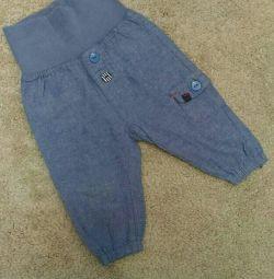 Jeans H&M vara 62 dimensiuni