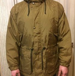 Новая мужская куртка парка