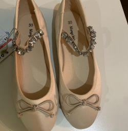 Παπούτσια μπαλέτου Mango