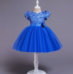 New dress with a full skirt (cotton lining)