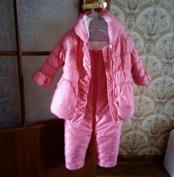 Комплект для дівчинки mothercare р.80-86
