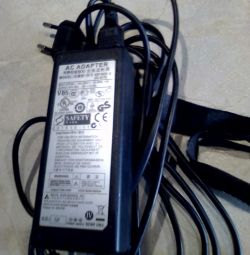Power supply for laptop. Exchange