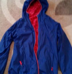 Jachetă cu două fețe