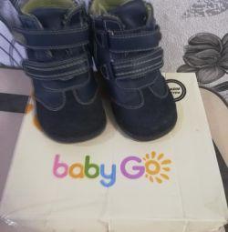 Μπότες μωρό πάει