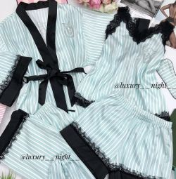 Пижама халат( комплект 6 предметов)