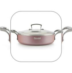 Casserole with / cr 26 cm Rosso Rondel
