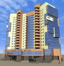 Apartment, 1 room, 46 m²