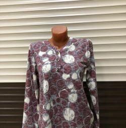 Новые блузки из ткани