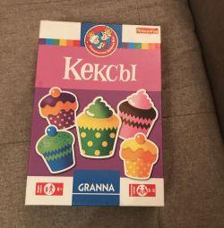 Board children's game Cupcakes Bondibon