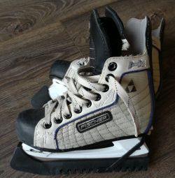 Hockey ice skates