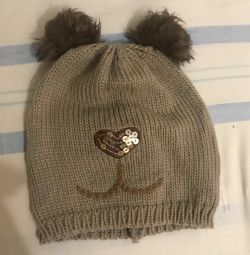 Hat with squirrel ears