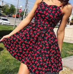 Dress with cherry