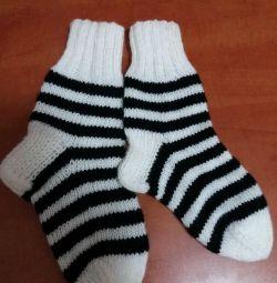 Knitted socks.Mozhno to order.