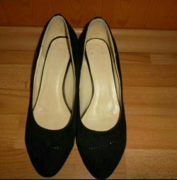 Suede shoes 40-41 size