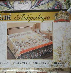 5D silk bedspread