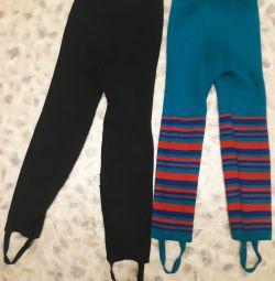 Гамаши пакетом, брюки зимние