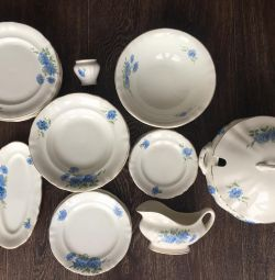 Set of dishes of the USSR (ZIK Konakovo)
