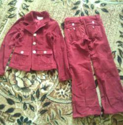 Κοστούμι για κορίτσια 6-8 ετών SABELMA
