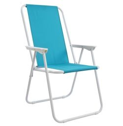BEACH CHAIR FLEXIBLE SILVER HM5