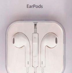 Навушники Apple EarPods (3.5 мм) Original
