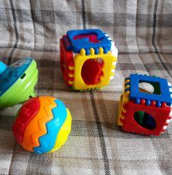 игрушки (цена за всe )