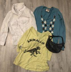 Σετ ρούχων + τσάντα !!!