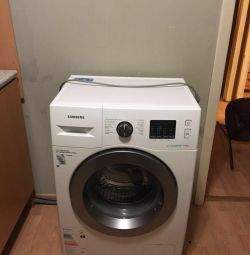 Washing machine WW6000J, Eco Bubble, 6 kg