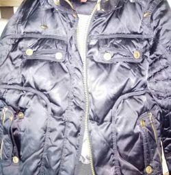Ζεστό μαύρο σακάκι