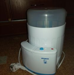 Sterilization and breast pump