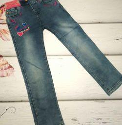 Jeans pentru 5-6 ani