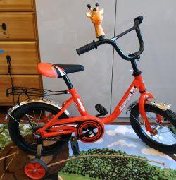 Детский велосипед Мультяшка 1404
