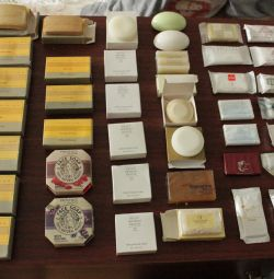 Soap in original packages in stock