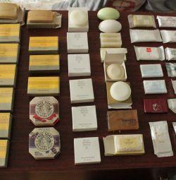 Мыло в оригинальных упаковках в ассортименте