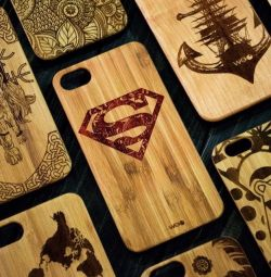 Covers with engraving on iPhone