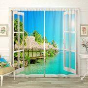 Photocurtains Chic view