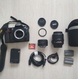 Nikon d300 reflex camera + 2 lenses